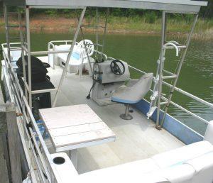 aluminum boat decking - pontoon boat decking