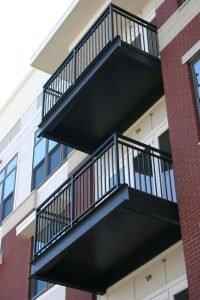 DryJoistEZ on Radius Apartments multifamily decking and balcony application