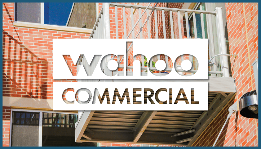 Wahoo commercial aluminum decking systems with balcony - formerly Wahoo Complete