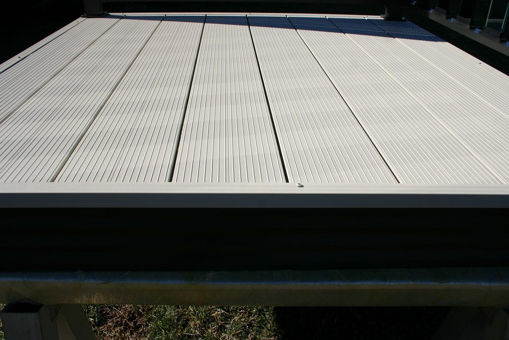 interlocking aluminum decking boards fortis wahoo decks