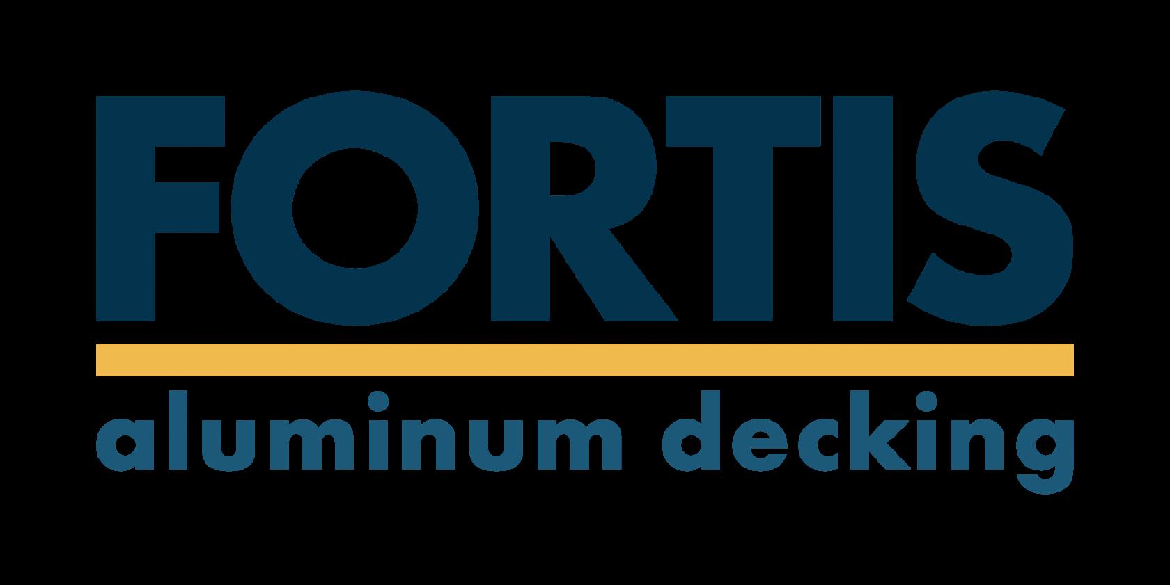 Fortis aluminum decking interlocking decking boards new logo large
