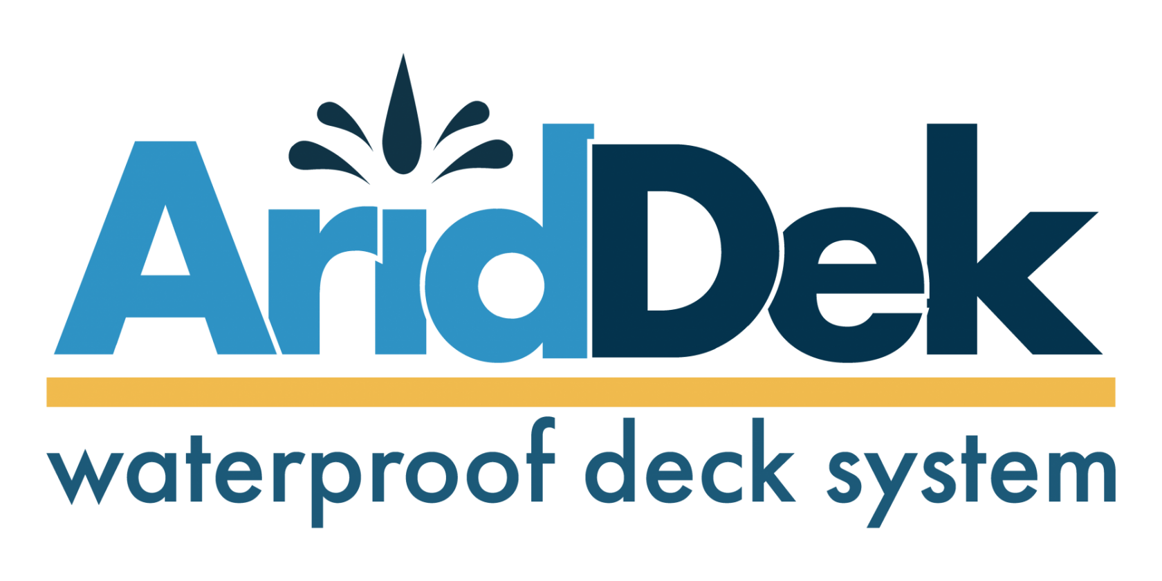 AridDek waterproof decking board system large logo