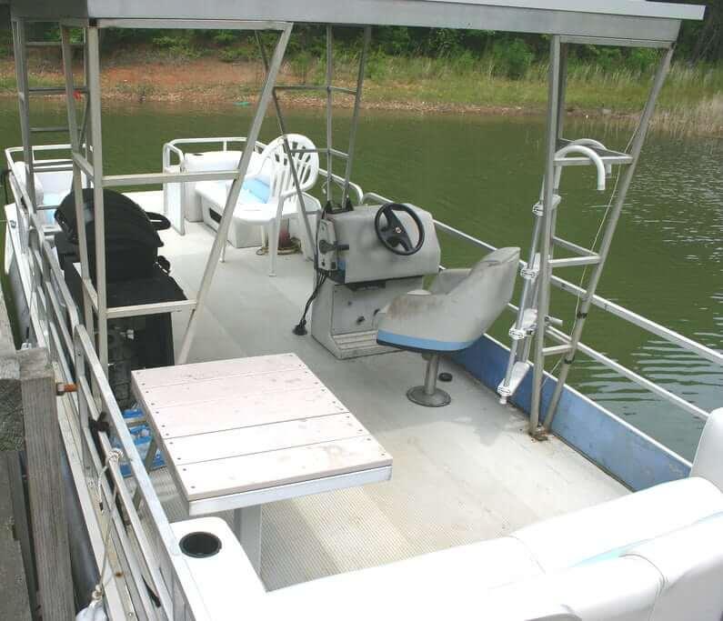 pontoon boat decking - aluminum decking for boats
