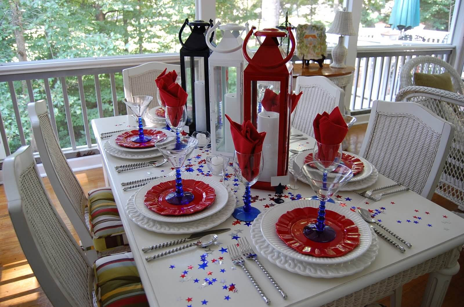 Deck design tips deck out your outdoor space for for 4th of july decorating ideas for outside