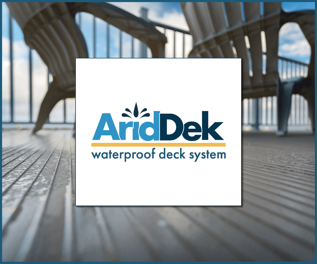 AridDek aluminum decking boards square logo