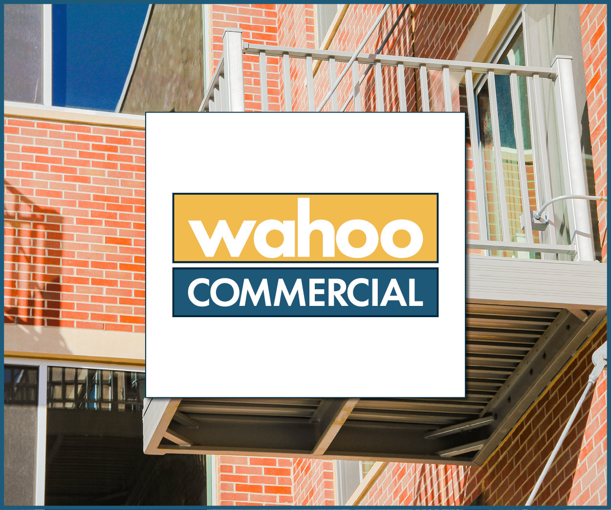 Wahoo commercial commercial aluminum decking and balcony systems