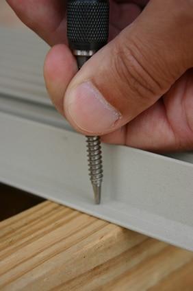 AridDek integrated screw flange