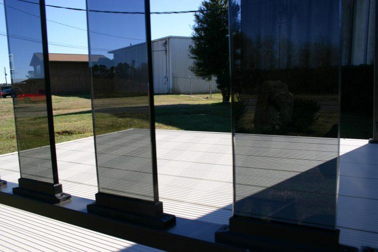 Wahoo Rail Glass Deck Rail 4