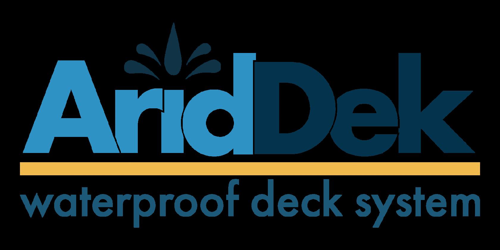 AridDek waterproof decking board system large logo