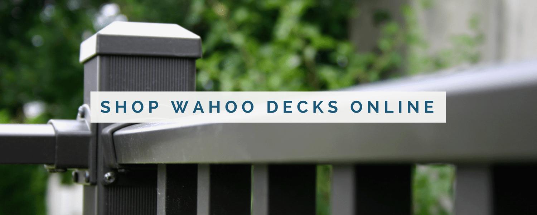 wahoo decks deck railing online shop